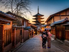 Киото: город тысячи храмов