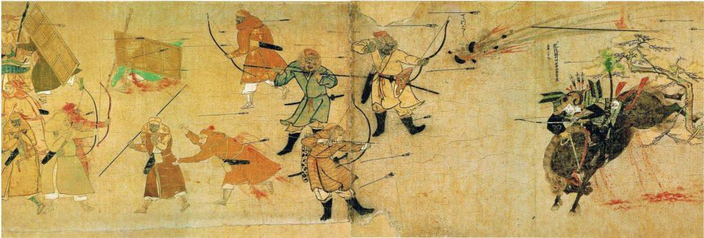 Samurai Takezaki Suenaga