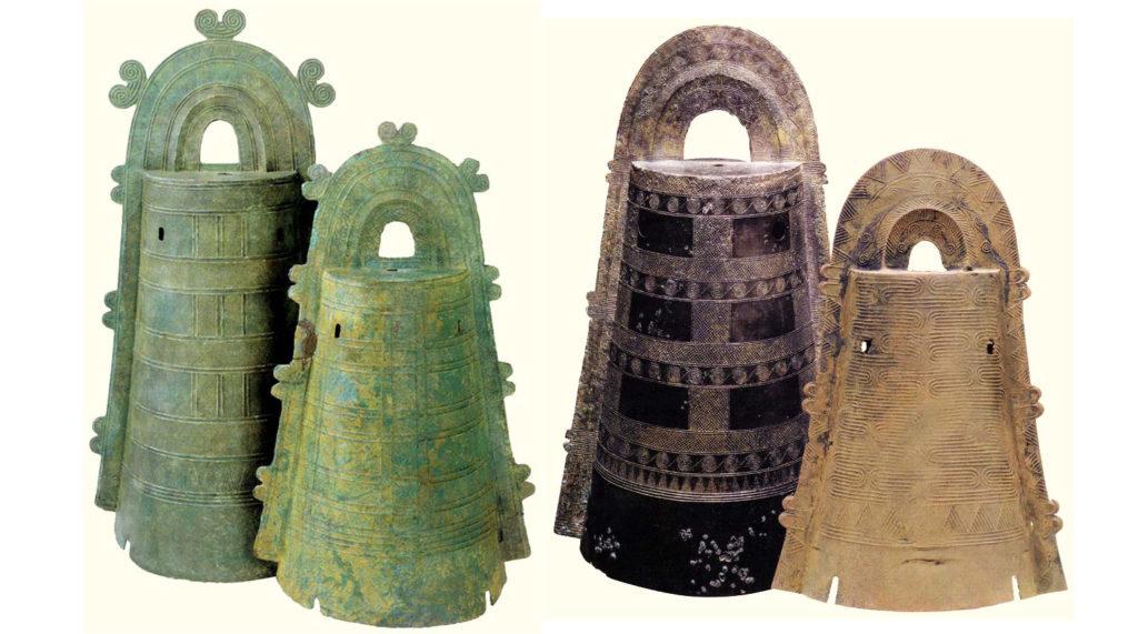 Древние колокола дотаку